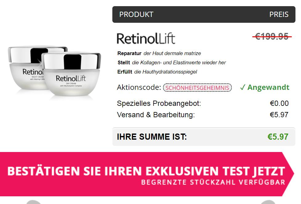 retinol lift